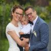 Hochzeit Sarah Frick, Philipp Hammer mit Leano am 19. Juni 2020 Foto: Eddy Risch, Schaan